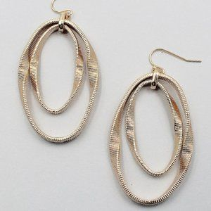 Snake Chain Double Earrings